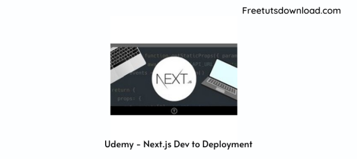 Udemy - Next.js Dev to Deployment