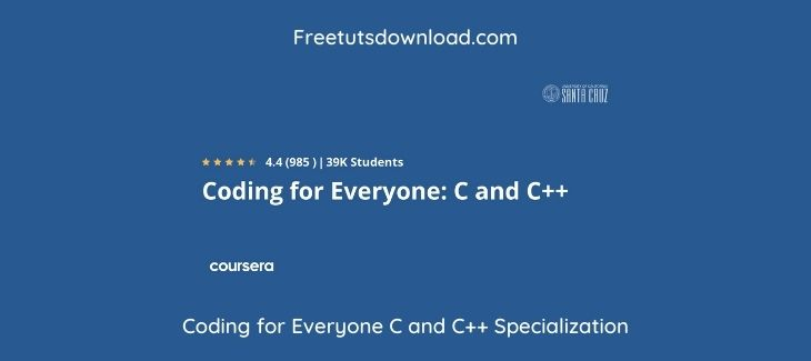 Coding for Everyone C and C++ Specialization