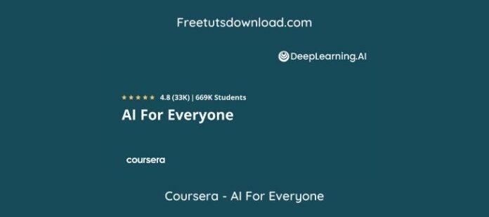 Coursera - AI For Everyone