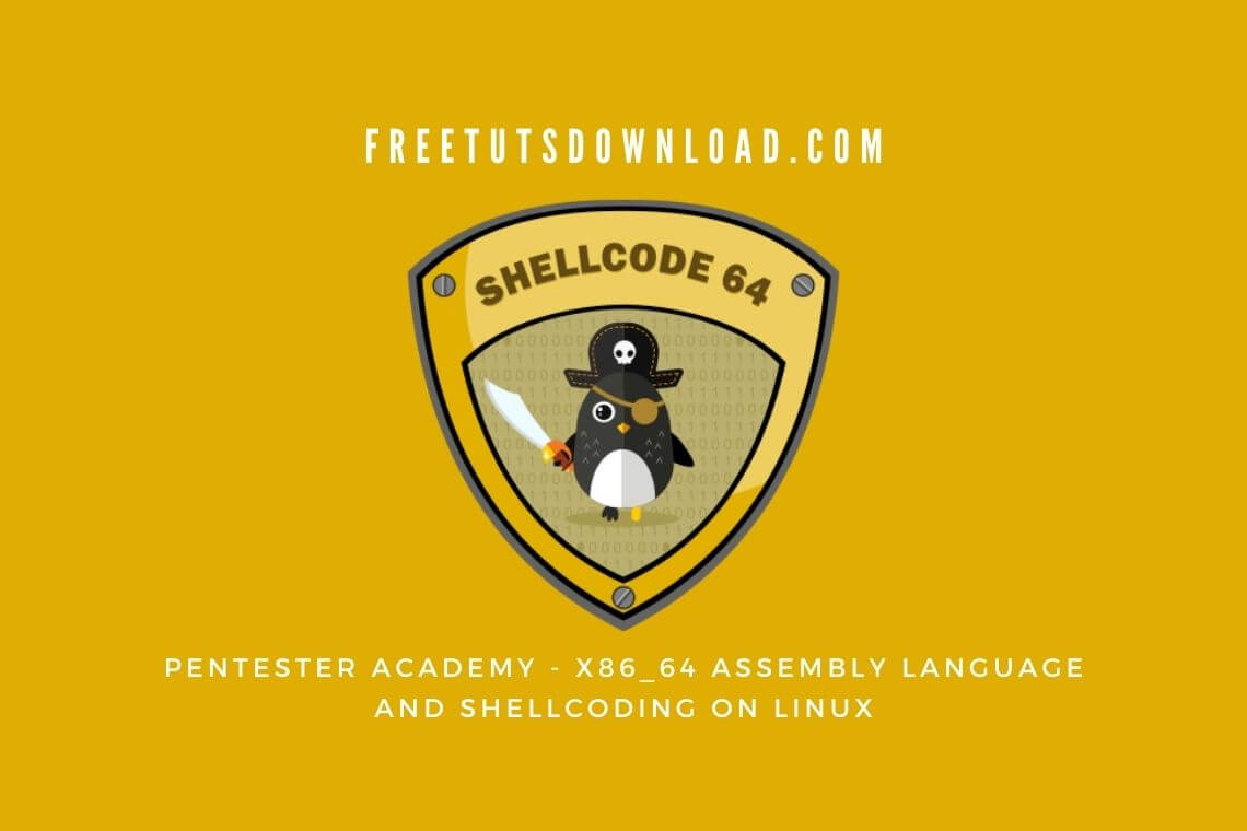 Pentester Academy - x86_64 Assembly Language and Shellcoding on Linux
