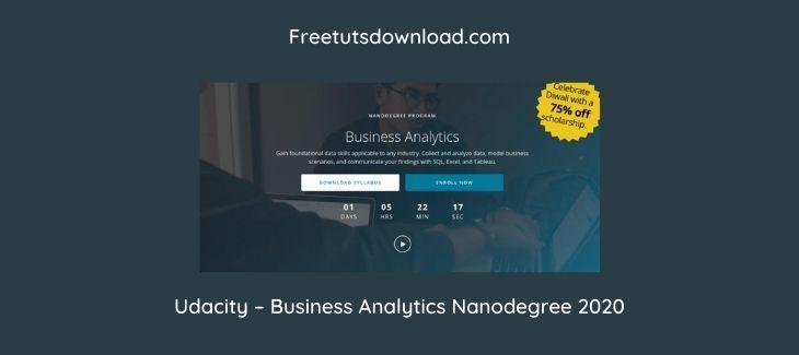 Udacity – Business Analytics Nanodegree 2020