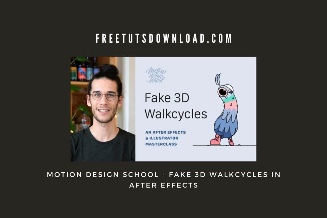 Motion Design School - Fake 3D Walkcycles in After Effects