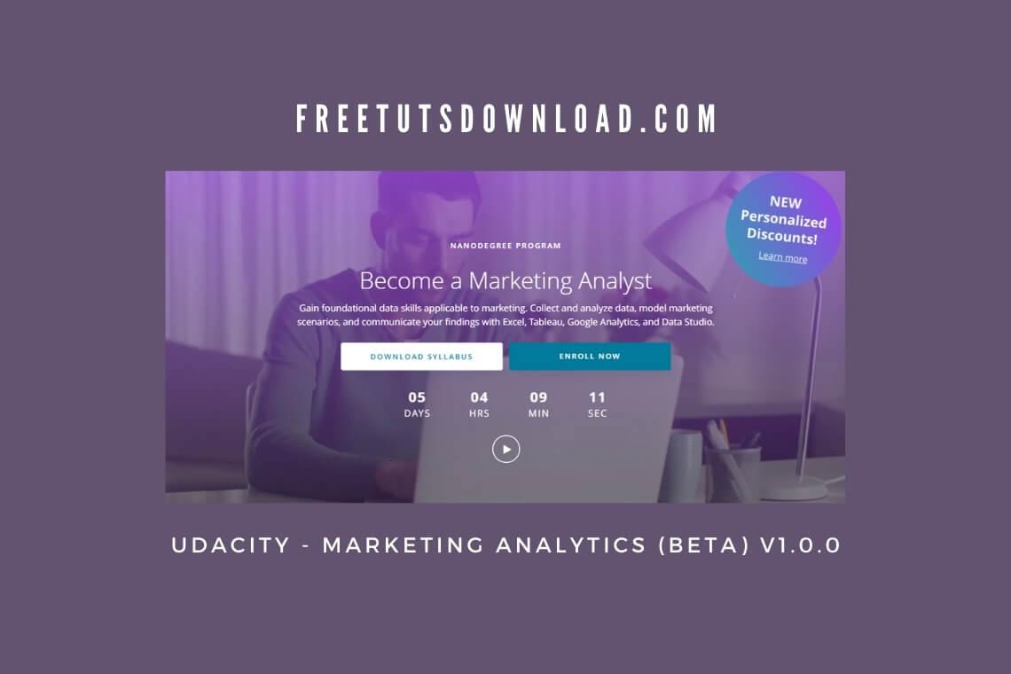 UDACITY - Marketing Analytics (BETA) v1.0.0